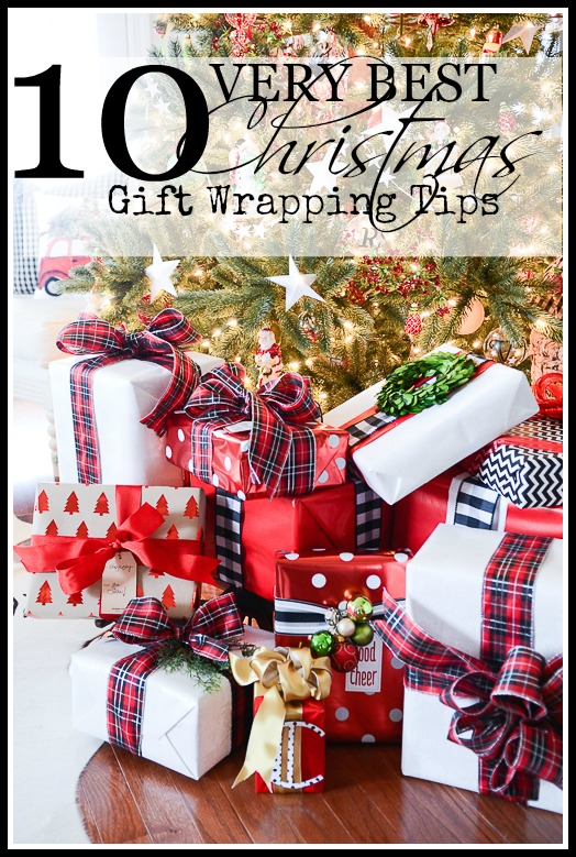 10 VERY BEST GIFT WRAPPING TIPS-stonegableblog.com