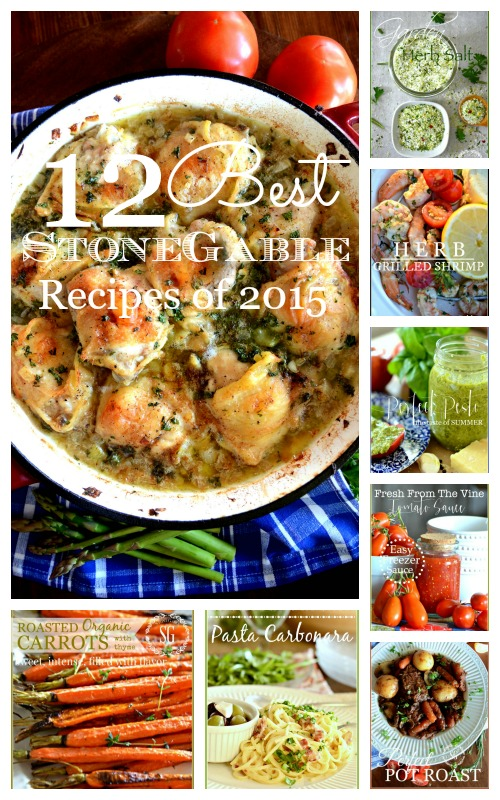 12 BEST RECIPES OF 2015- scrumptious recipes to have in your culinary repetoire