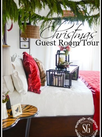 DECORATE GUEST ROOMS FOR CHRISTMAS