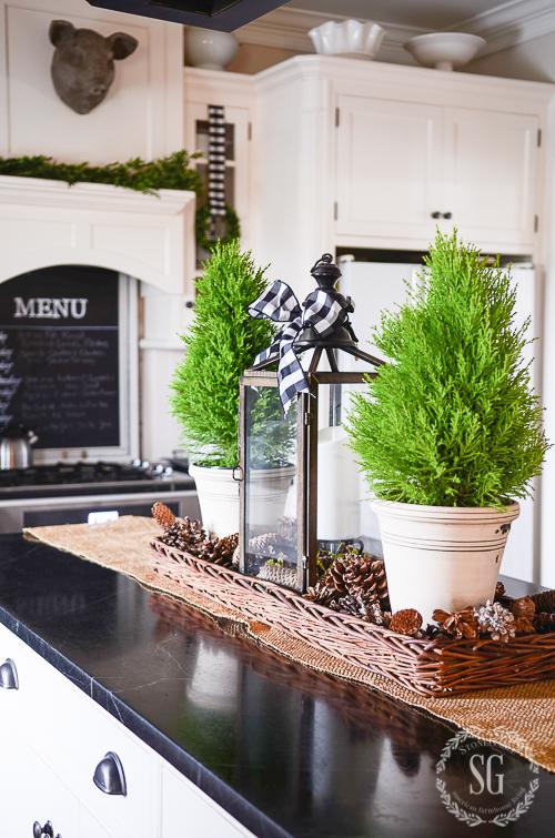 All Through The House Christmas Kitchen Tour Stonegable