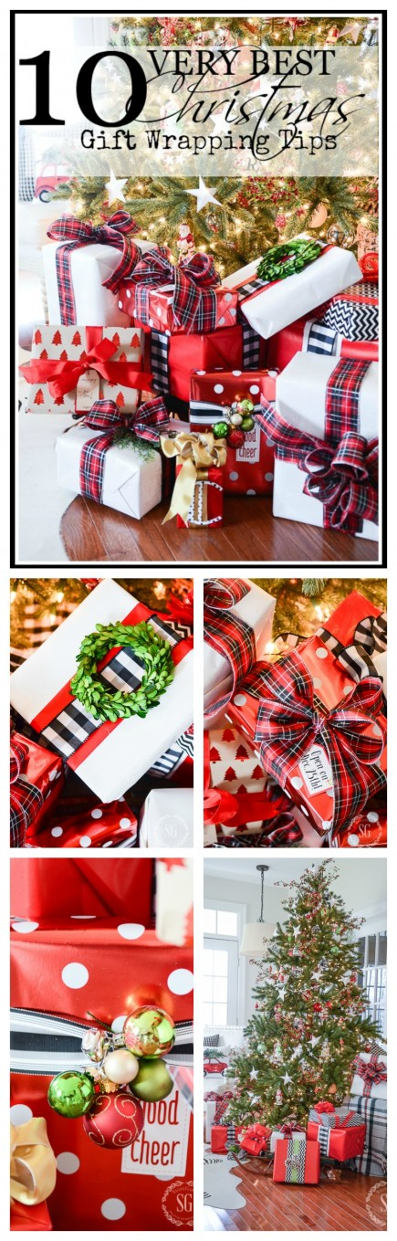 10 VERY BEST GIFT WRAPPING TIPS- YOU can do this!
