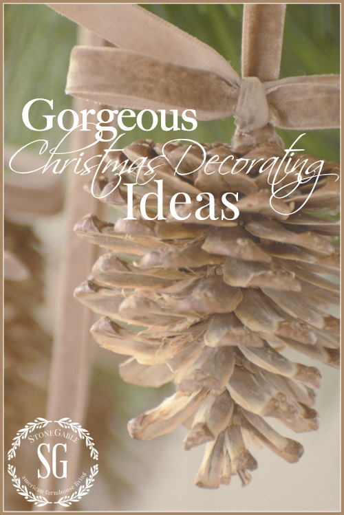 GORGEOUS CHRISTMAS DECORATING IDEAS