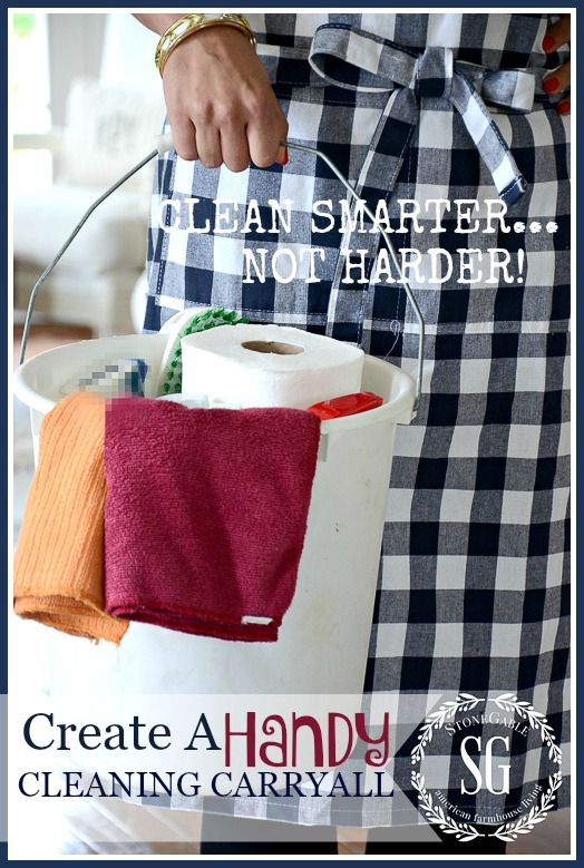 CREATE A HANDY CLEANING CARRYALL