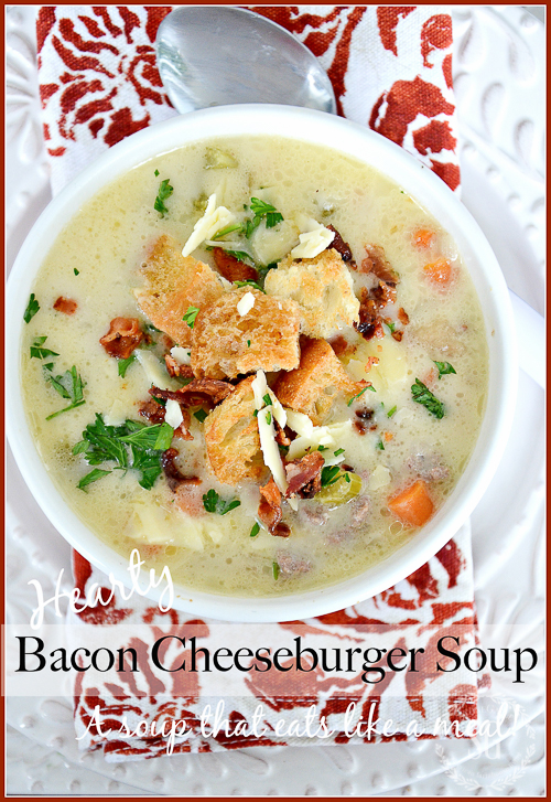 HEART WARMING WINTER SOUPS