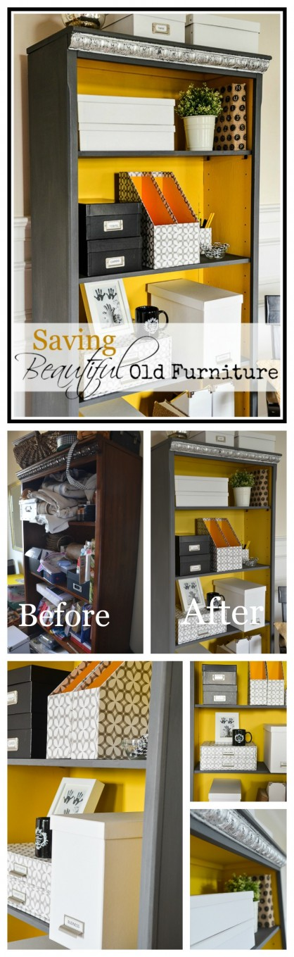 SAVING BEAUTIFUL OLD FURNITURE-rescue and transform the furniture you have!