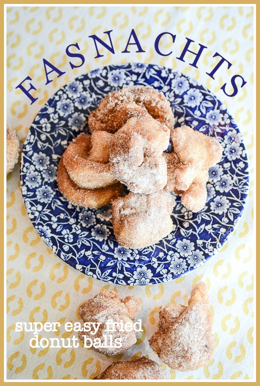 FASNAUCHTS- Scrumptious, easy to make fried dough sweetened with cinnamon sugar.