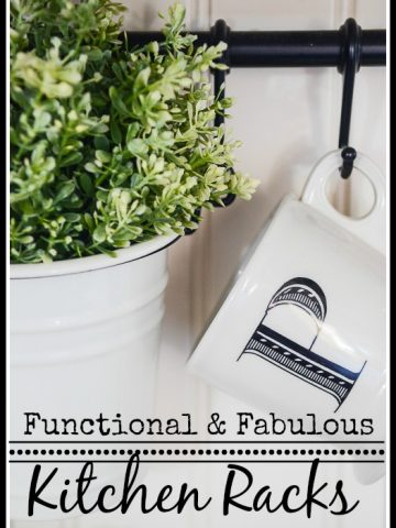 FUNCTIONAL AND FABULOUS KITCHEN RACKS