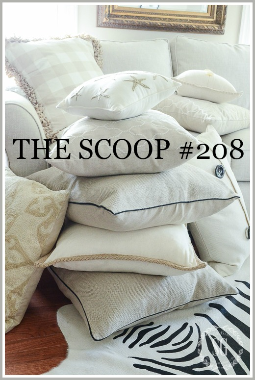 THE SCOOP #208- THE BEST HOME AND GARDEN POST ON THE WEB!