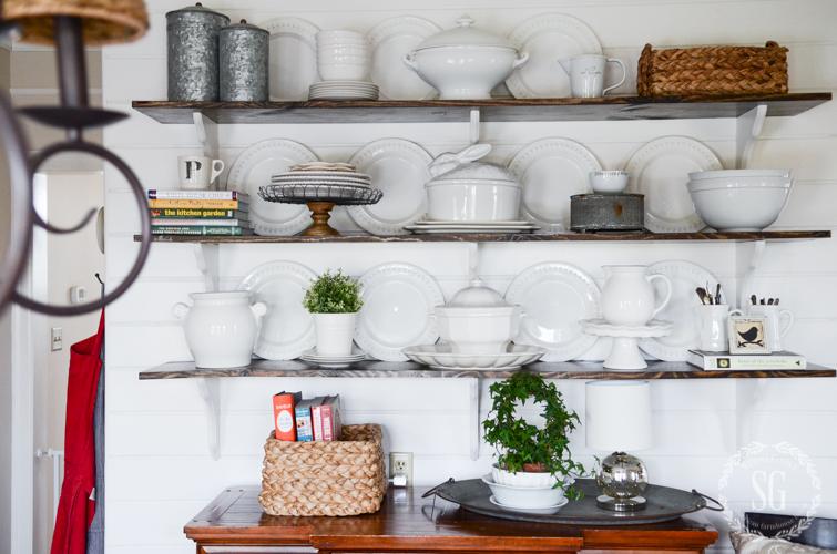 Decorating Open Shelves Like A Pro Stonegable