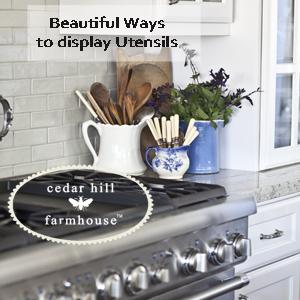 kitchen utensil storage