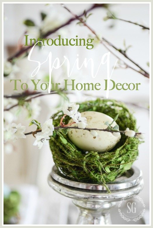 INTRODUCING SPRING TO YOUR HOME DECOR- Beautiful ways to decorate you home!