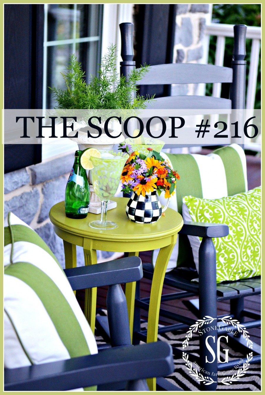 THE SCOOP #216-Hundreds of post about home, garden, diy and more!