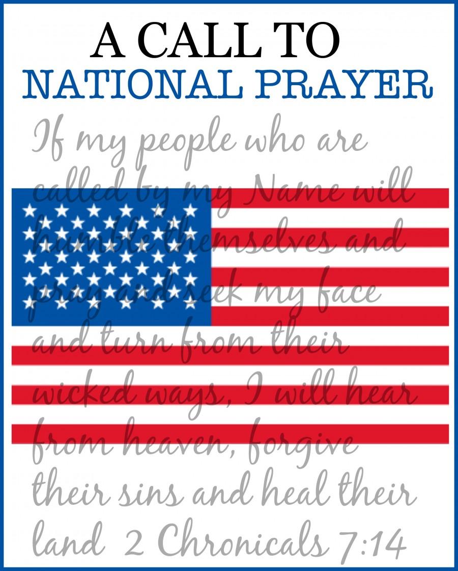 A CALL TO  NATIONAL PRAYER