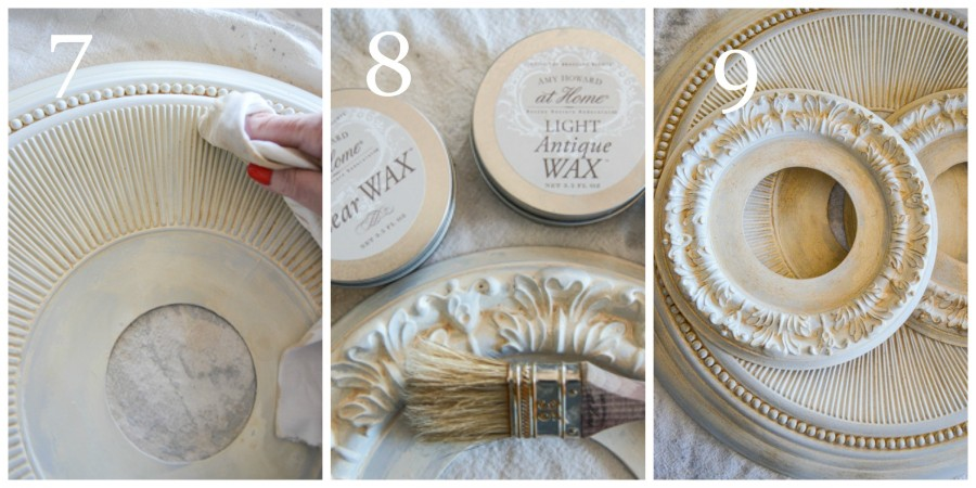 PAINTED MEDILION MIRROR DIY-instructions 7-9-stonegableblog-2