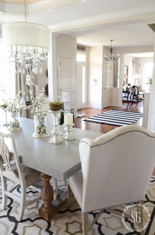 SPRING HOME TOUR 2016-dining-room-to-living-room-stonegableblog-2