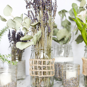 mason jars with lavender square (1 of 1)