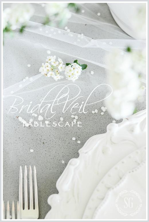 BRIDAL VEIL TABLESCAPE