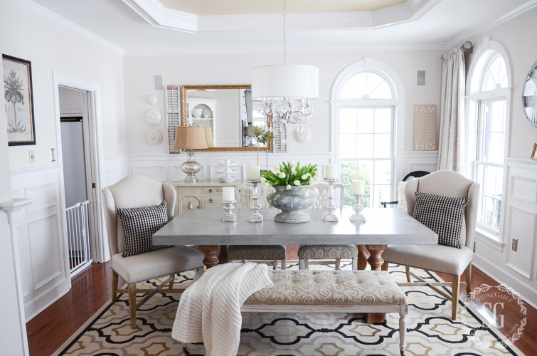 FURNISHING YOUR PERFECT DINING ROOM- If your dining room is not what you dream it could be here are some easy and sensible tips to transform it.
