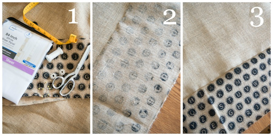 HOW TO UPDATE SHEER CURTAINS... AN EASY DIY - StoneGable