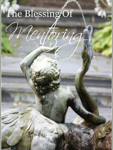 THE BLESSING OF MENTORING
