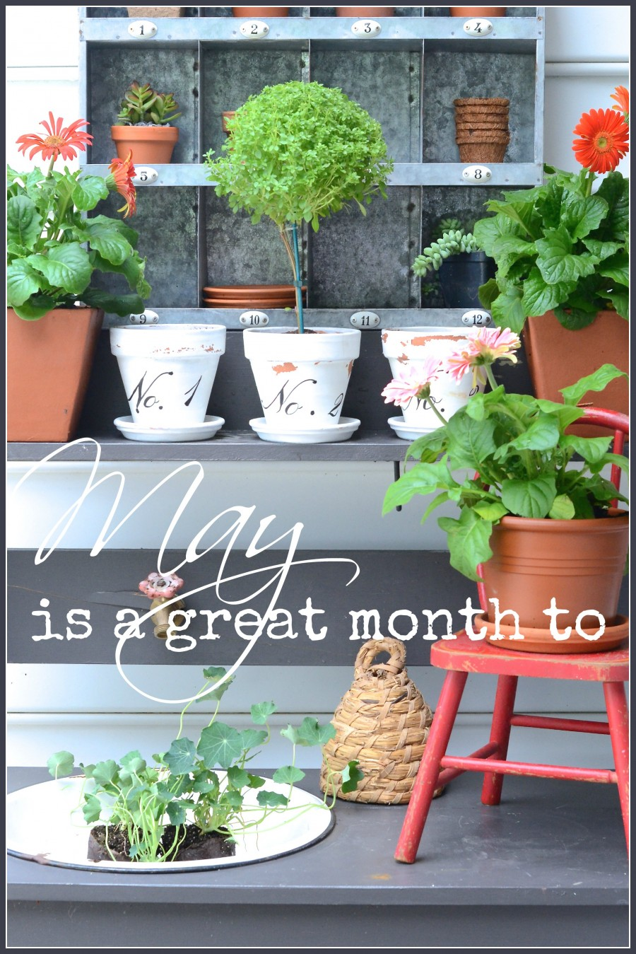 MAY IS A GREAT MONTH TO…
