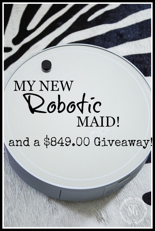 MY NEW ROBOTIC MAID AND A $849.00 GIVEAWAY!
