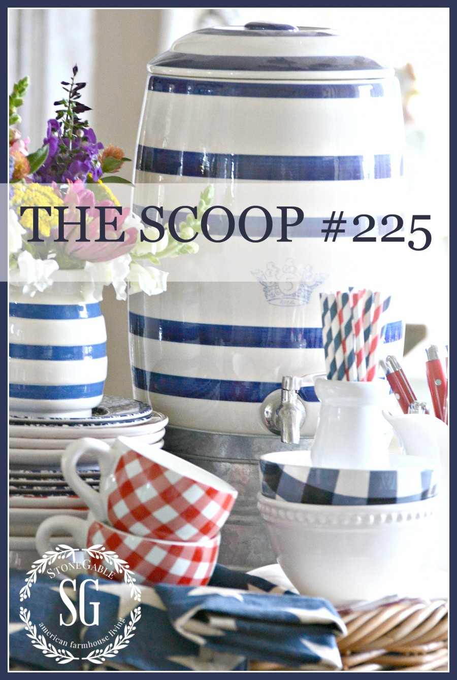 THE SCOOP #225- Hundreds of home and garden ideas!