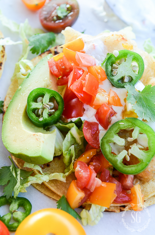 FRESH AND DELICIOUS BAJA FISH TACOS- A MEAL ON GRILED TORTILLAS