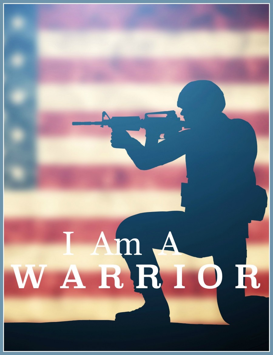 I AM A WARRIOR-PART- We are embroiled in a fight between good and evil. Here's how to be victorious!