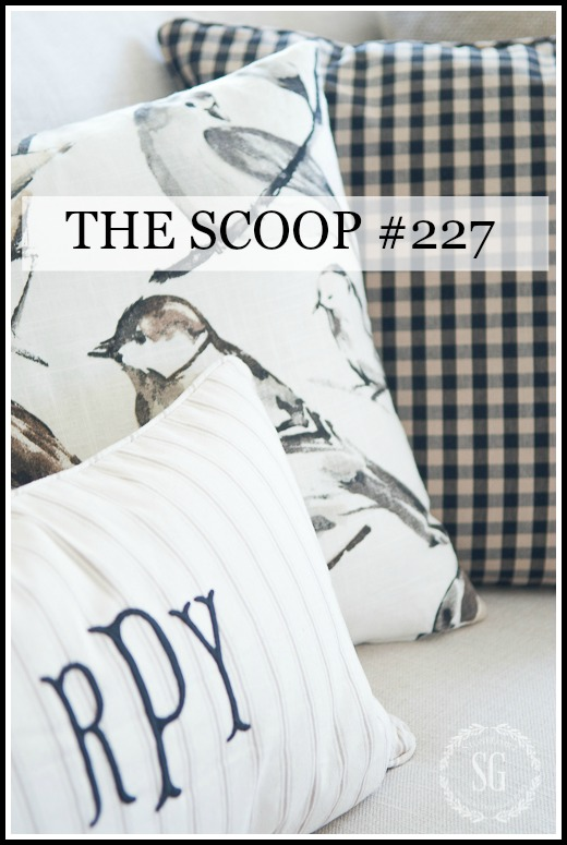 THE SCOOP- Hundreds of home and garden post all in one place!