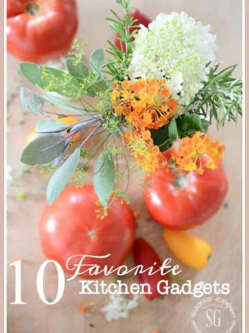 10 FAVORITE KITCHEN GADGETS- Here's my top 10 gadgets that make cooking easier!