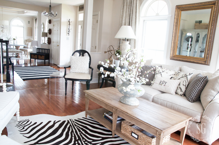 SPRING HOME TOUR 2016--view-from-living-room-to-foyer-stonegableblog-2