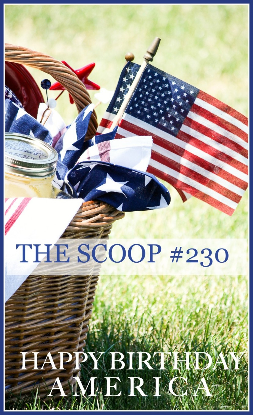 THE SCOOP #230-Find hundreds of the best home and garden blog posts all in one place!