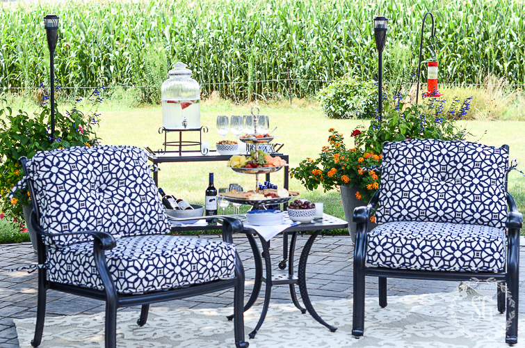 IT'S NOT YOUR MOTHER'S OUTDOOR RUG- Let's look at fabulous outdoor rugs for outside and in!