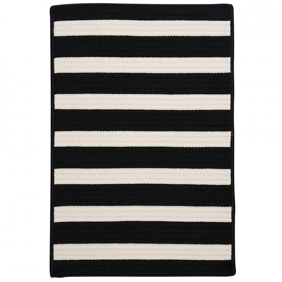 Colonial-Mills-Stripe-It-Black-White-Area-Rug-TR89R
