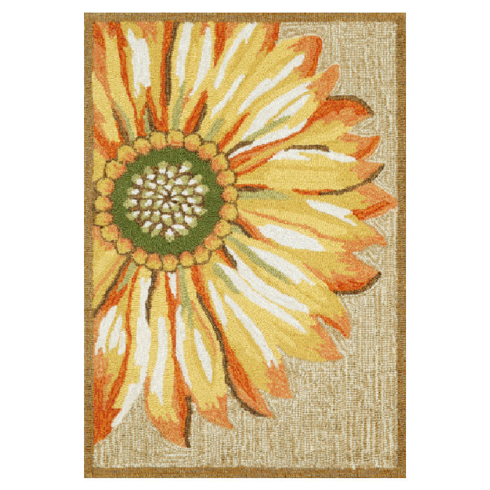 Frontporch+Sunflower+Rug