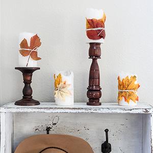 1- MAISON DE PAX-fall-leaf-candles-300