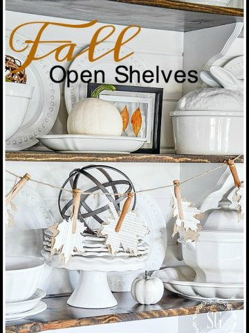 FALL OPEN SHELVES
