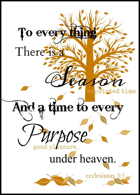 Ecclesiastes 3-1- FREE PRINTABLE
