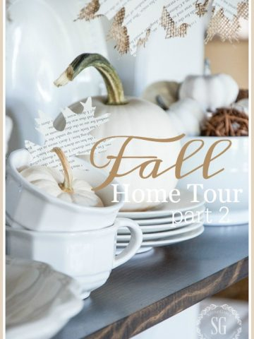 FALL HOME TOUR, PART 2