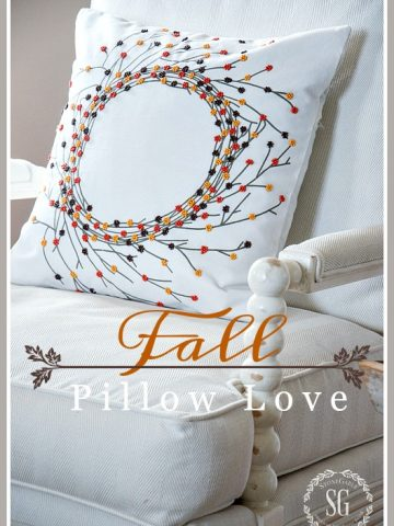 FALL PILLOW LOVE 2016