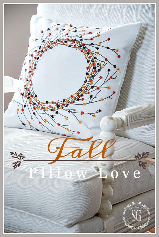 FALL PILLOW LOVE 2016