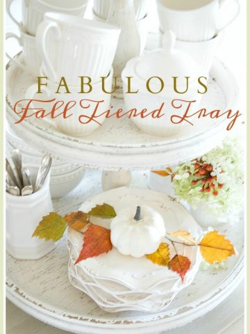FABULOUS FALL TIERED TRAY