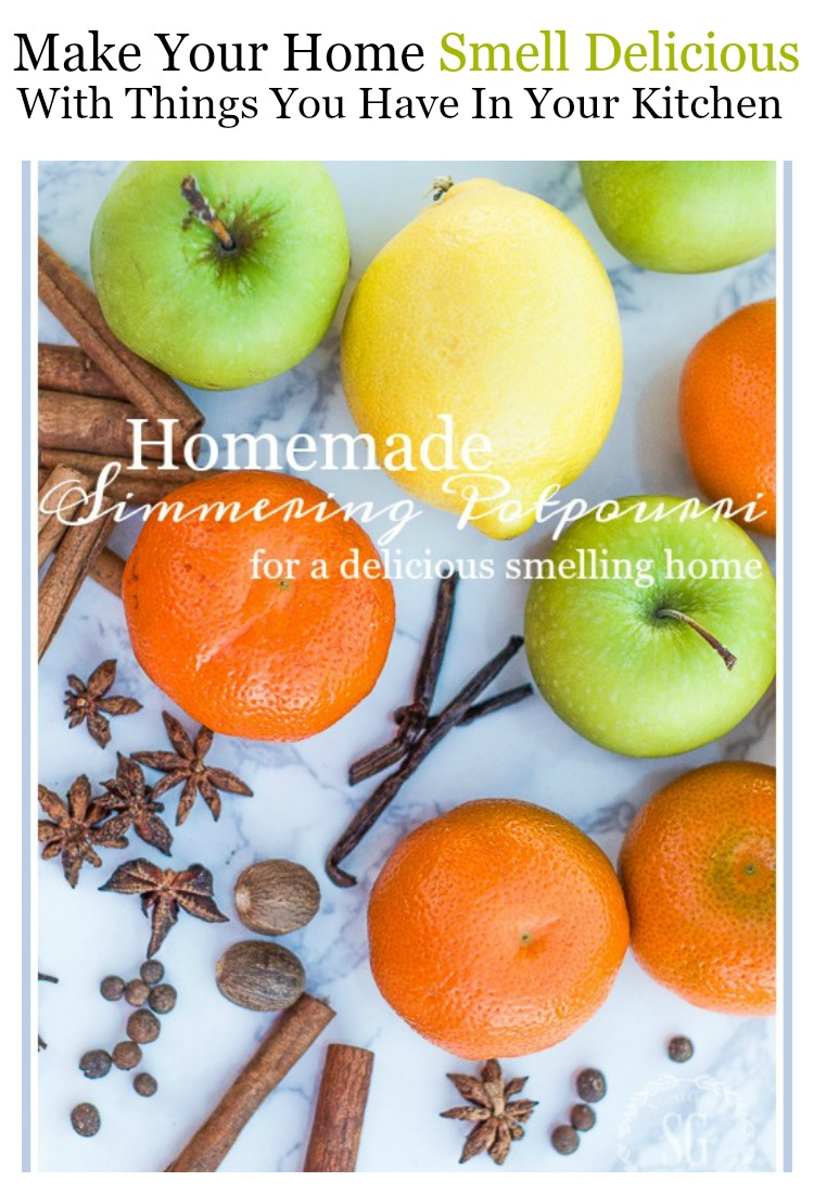 HOMEMADE SIMMERING POTPOURRI- Make a delicious smelling potpourri for your home!