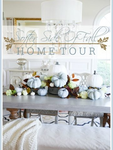 SOFTER SIDE OF FALL HOME TOUR, PART 1