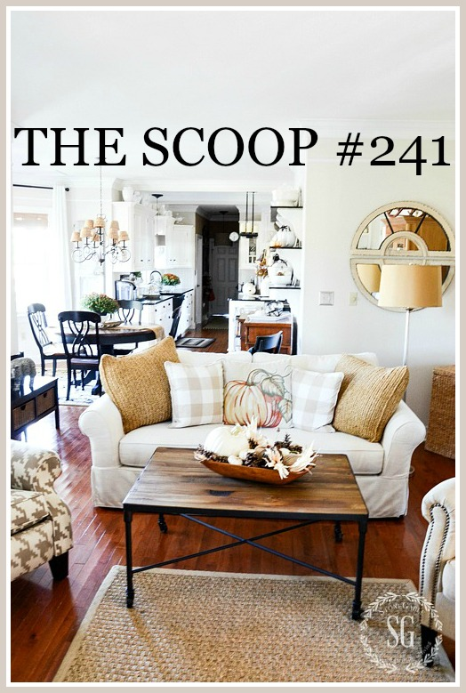 THE SCOOP- The linky party with the best home and garden ideas from the web!