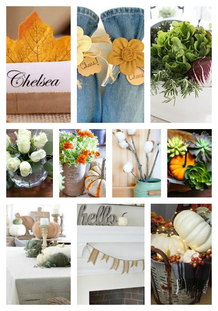 10 Minute Fall Decorating Ideas kellyelko.com