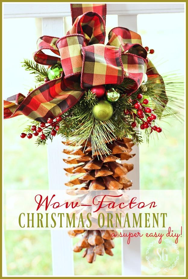 Wow Christmas.Wow Factor Christmas Ornament Stonegable