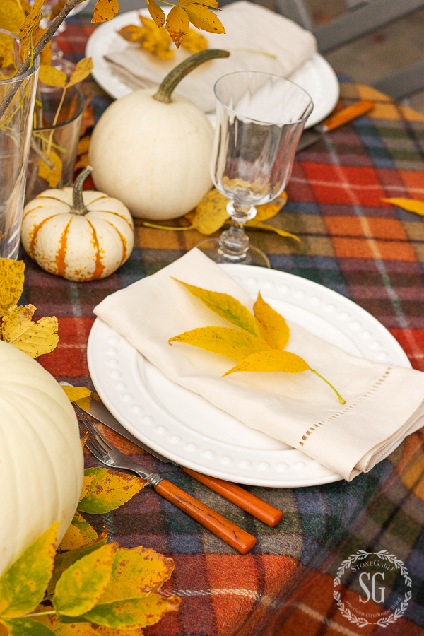 easy thanksgiving place setting great thanksgiving tips