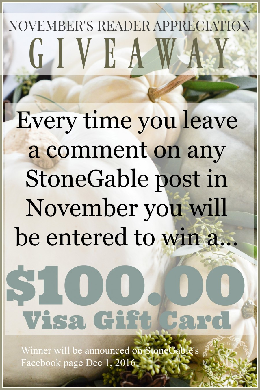 novembers-reader-appreciation-giveaway-stonegableblog-com